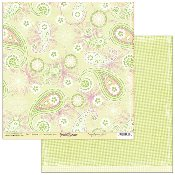 Scribble Scrabble Ruth's Paisley Perfection Printed Paper