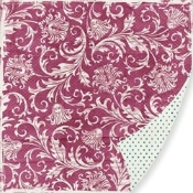 Pink Paislee Bayberry Cottage Gazebo Printed Paper