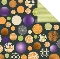 Bazzill Spooky & Kooky Halloween Ball Printed Paper