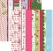 Bazzill Holiday Style Borders Printed Paper