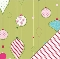 Bazzill Holiday Style Trim A Tree Printed Paper