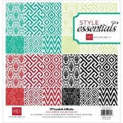 Echo Park Paper Co.Style Essentials 34th Collection Kit 12 X12