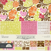 Authentique Lively 12x12 Collection Kit