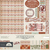 Authentique Grateful 12x12 Collection Kit