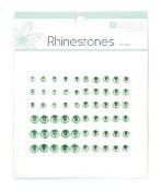 Kaisercraft Rhinestone Assortment -Light Green