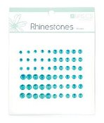 Kaisercraft Rhinestone Assortment -Aquamarine