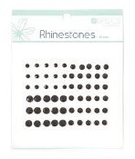 Kaisercraft Rhinestone Assortment -Black