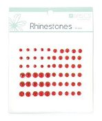 Kaisercraft Rhinestone Assortment -Red