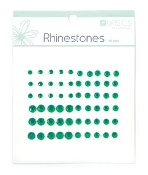 Kaisercraft Rhinestone Assortment -Dark Green