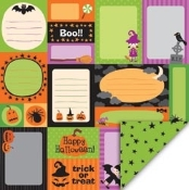 My Little Shoebox Fright Night Printed Paper