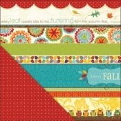 LYB Hello Fall, Happy Fall Printed Paper