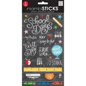 Me & My Big Ideas Stickers Value Pack -School Today - Chalk